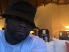 """50 Cent Delivers Michael Blackson Roasting Before Thanksgiving: """"That Girl You W/ Handsome"""""""
