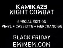 Eminem Announces Kamikaze Night Combat Release For Black Friday