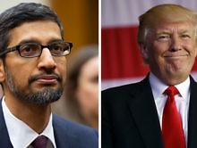 "Google CEO Sundar Pichai Explains to Congress Why Googling ""Idiot"" Shows Donald Trump"