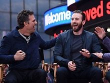 Chris Evans & Mark Ruffalo Try To Survive Thanos' Snap While Complaining About A Buzzfeed Quiz [Video]