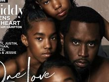 """Look: Diddy Graces New ESSENCE Cover W/ His Daughters: """"One Love"""""""