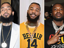 The Game Says Nipsey Hussle Told Him to Squash Beef With Meek Mill